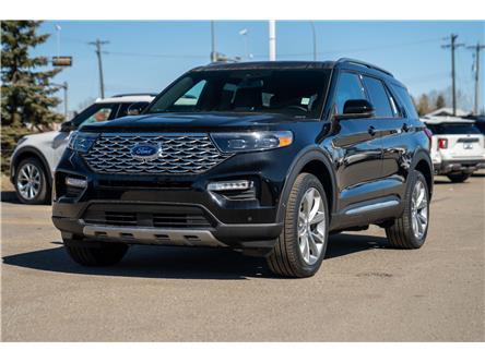 2021 Ford Explorer Platinum (Stk: MK-26) in Okotoks - Image 1 of 6