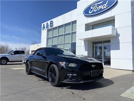 2017 Ford Mustang EcoBoost Premium (Stk: W1141AA) in Perth - Image 1 of 14