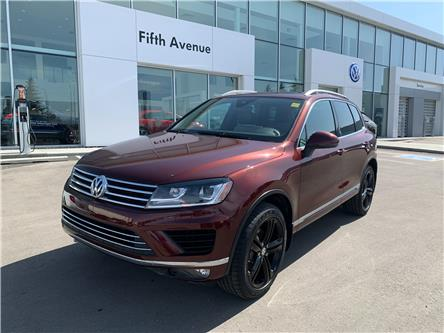 2017 Volkswagen Touareg 3.6L Wolfsburg Edition (Stk: 21144A) in Calgary - Image 1 of 31
