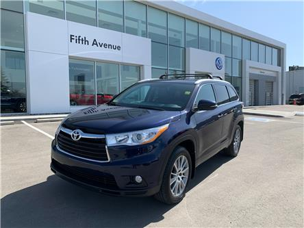 2014 Toyota Highlander XLE (Stk: 21092AA) in Calgary - Image 1 of 29