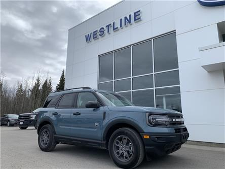 2021 Ford Bronco Sport Big Bend (Stk: 4954) in Vanderhoof - Image 1 of 21