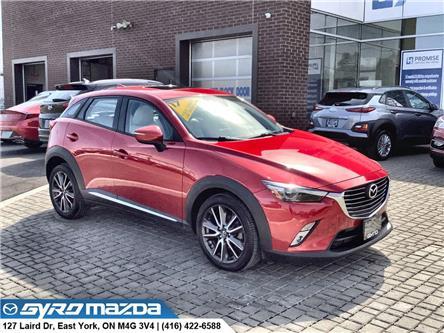 2017 Mazda CX-3 GT (Stk: 30811) in East York - Image 1 of 30