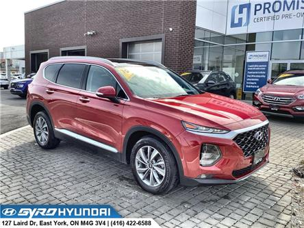 2019 Hyundai Santa Fe Luxury (Stk: H6396A) in Toronto - Image 1 of 30