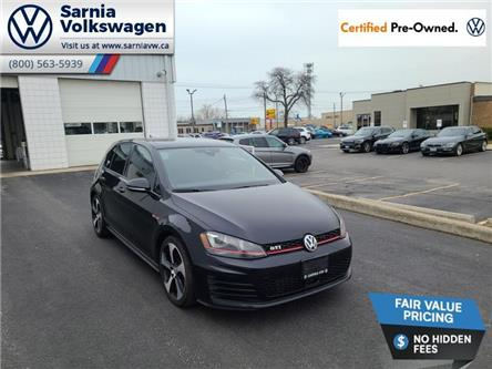 2017 Volkswagen Golf GTI 5-Door Autobahn (Stk: VU1103) in Sarnia - Image 1 of 18