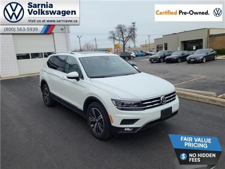 2018 Volkswagen Tiguan Highline (Stk: VU1123) in Sarnia - Image 1 of 21