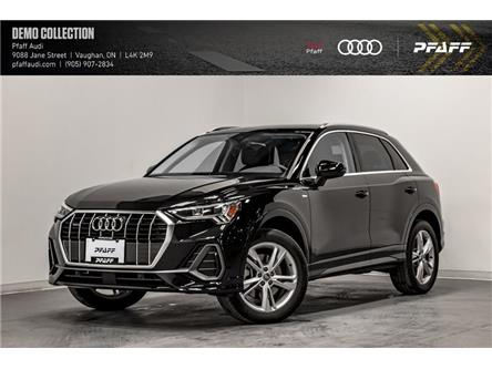 2021 Audi Q3 45 Progressiv (Stk: T18880) in Vaughan - Image 1 of 22