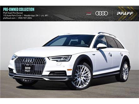 2019 Audi A4 allroad 45 Progressiv (Stk: C8247) in Vaughan - Image 1 of 37