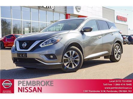 2018 Nissan Murano SL (Stk: 20083A) in Pembroke - Image 1 of 30