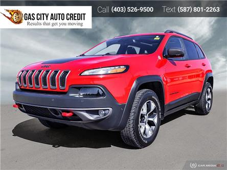 2017 Jeep Cherokee Trailhawk (Stk: 0MU4915A) in Medicine Hat - Image 1 of 25