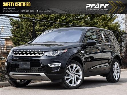 2017 Land Rover Discovery Sport HSE LUXURY (Stk: O13945) in Markham - Image 1 of 18