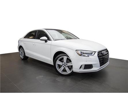 2017 Audi A3 2.0T Komfort (Stk: PM754) in Nepean - Image 1 of 19