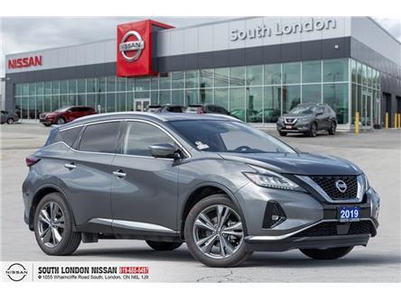 2019 Nissan Murano Platinum (Stk: L20040-1) in London - Image 1 of 24