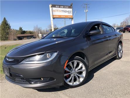 2015 Chrysler 200 S (Stk: -) in Kemptville - Image 1 of 20