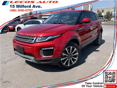 2016 Land Rover Range Rover Evoque SE (Stk: 086182) in Toronto - Image 1 of 19