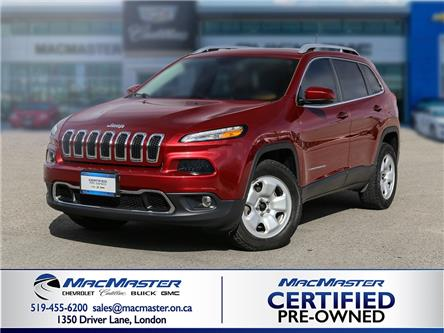 2016 Jeep Cherokee Limited (Stk: 215058A) in London - Image 1 of 10