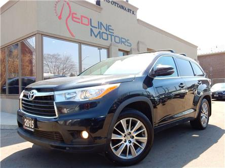 2015 Toyota Highlander  (Stk: 5TDJKR) in Kitchener - Image 1 of 23