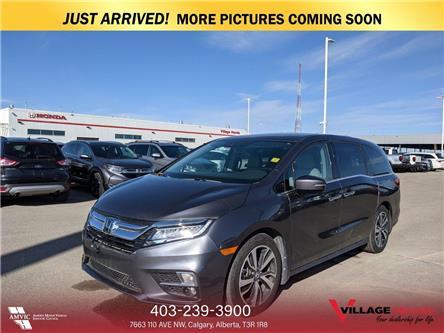 2018 Honda Odyssey Touring (Stk: B7648) in Calgary - Image 1 of 3