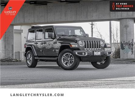 2020 Jeep Wrangler Unlimited Sahara (Stk: LC0754) in Surrey - Image 1 of 25