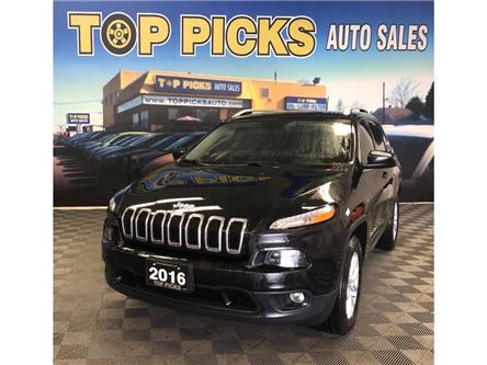 2016 Jeep Cherokee North (Stk: 161545) in NORTH BAY - Image 1 of 29