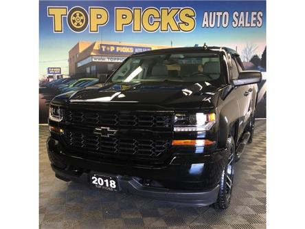 2018 Chevrolet Silverado 1500 Silverado Custom (Stk: 107877) in NORTH BAY - Image 1 of 28