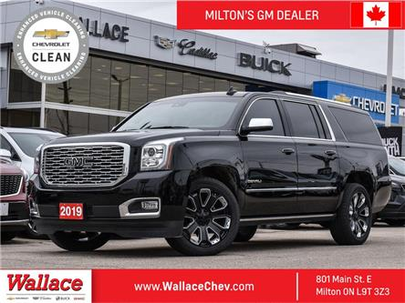 2019 GMC Yukon XL Denali DENALI,XL, ALT BLACK PGK, SUNROOF, DVD, APT CRUISE (Stk: 255273A) in Milton - Image 1 of 22