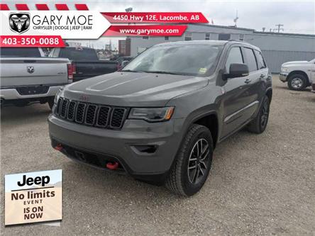 2021 Jeep Grand Cherokee Trailhawk (Stk: F212641) in Lacombe - Image 1 of 20