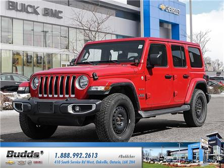 2020 Jeep Wrangler Unlimited Sahara (Stk: VT8024T) in Oakville - Image 1 of 21
