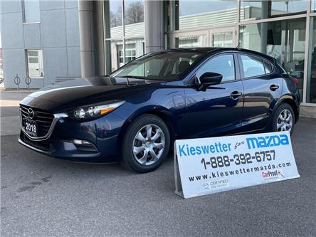 2018 Mazda Mazda3 Sport GX (Stk: U4103) in Kitchener - Image 1 of 27