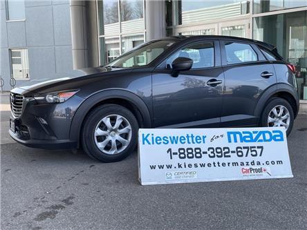 2017 Mazda CX-3 GX (Stk: U4112) in Kitchener - Image 1 of 27