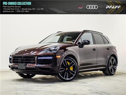 2019 Porsche Cayenne Turbo (Stk: T19139A) in Vaughan - Image 1 of 24