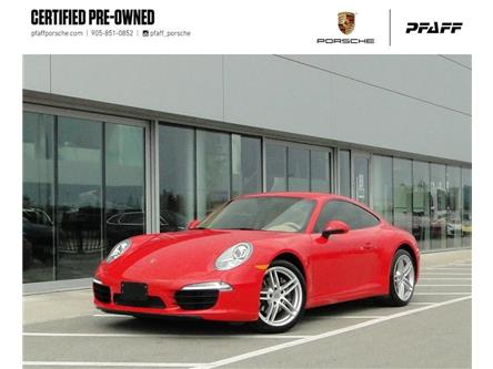2013 Porsche 911 Carrera Coupe (991) w/ PDK (Stk: U9177A) in Vaughan - Image 1 of 26