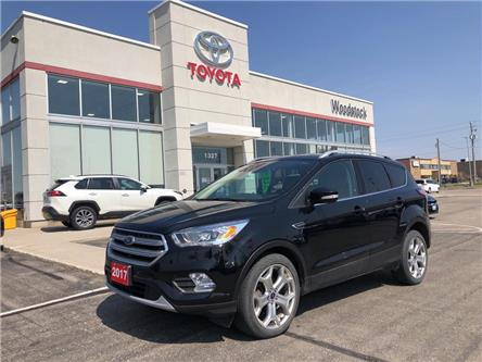 2017 Ford Escape Titanium (Stk: 114406A) in Woodstock - Image 1 of 24
