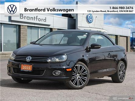 2015 Volkswagen Eos Wolfsburg Edition (Stk: P05350) in Brantford - Image 1 of 26