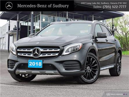 2018 Mercedes-Benz GLA 250 Base (Stk: M21009A) in Sudbury - Image 1 of 28