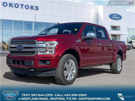2018 Ford F-150 Platinum (Stk: MK-79A) in Okotoks - Image 1 of 26