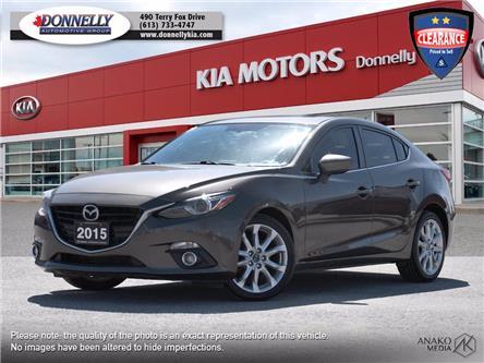 2015 Mazda Mazda3 GT (Stk: KU2505) in Kanata - Image 1 of 30