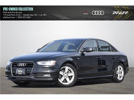 2014 Audi A4 2.0 Progressiv (Stk: C8245A) in Woodbridge - Image 1 of 19