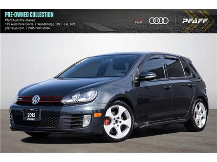 2012 Volkswagen Golf GTI 5-Door (Stk: C8261A) in Woodbridge - Image 1 of 19