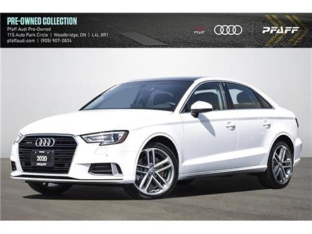 2020 Audi A3 45 Komfort (Stk: C8285) in Woodbridge - Image 1 of 25