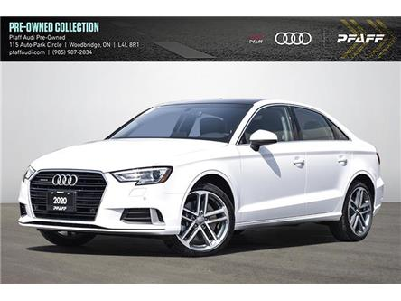 2020 Audi A3 45 Komfort (Stk: C8288) in Woodbridge - Image 1 of 25