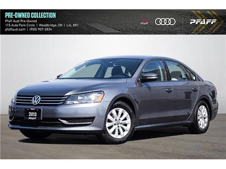 2013 Volkswagen Passat 2.5L Trendline (Stk: T19199AA) in Woodbridge - Image 1 of 16