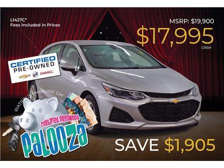 2019 Chevrolet Cruze LT (Stk: L1427C) in Watrous - Image 1 of 39