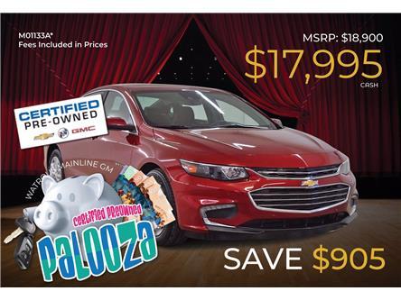 2017 Chevrolet Malibu 1LT (Stk: M01133A) in Watrous - Image 1 of 44