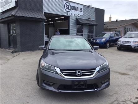 2015 Honda Accord Sport (Stk: ) in Winnipeg - Image 1 of 18
