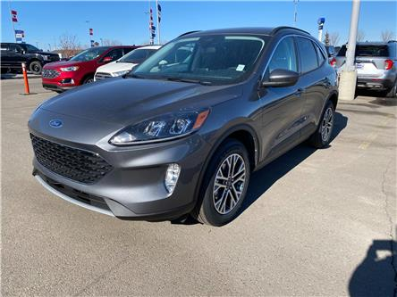 2021 Ford Escape SEL (Stk: M-539) in Calgary - Image 1 of 5