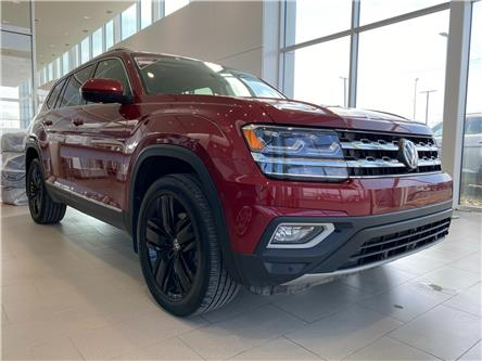2018 Volkswagen Atlas 3.6 FSI Execline (Stk: V7673) in Saskatoon - Image 1 of 21