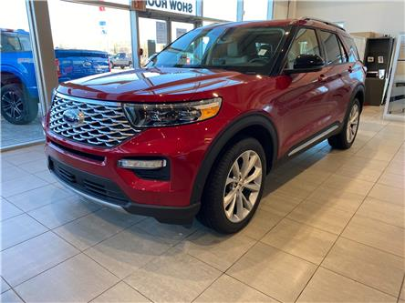 2021 Ford Explorer Platinum (Stk: M-416) in Calgary - Image 1 of 6