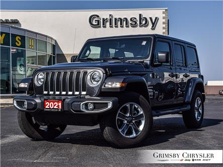 2021 Jeep Wrangler Unlimited Sahara (Stk: U5098) in Grimsby - Image 1 of 28