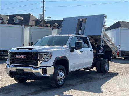 2020 GMC Sierra 3500HD CC New 2020 GMC 3500 4x4 Crew-Cab Dump!!! (Stk: DT20402) in Toronto - Image 1 of 21