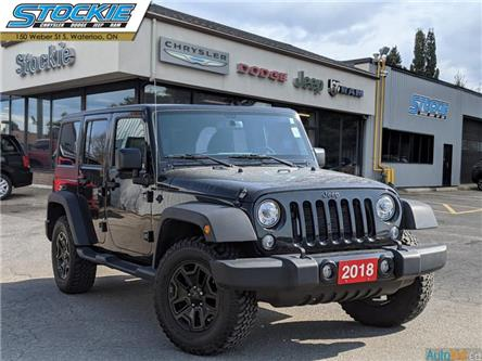 2018 Jeep Wrangler JK Unlimited Sport (Stk: 35267) in Waterloo - Image 1 of 26